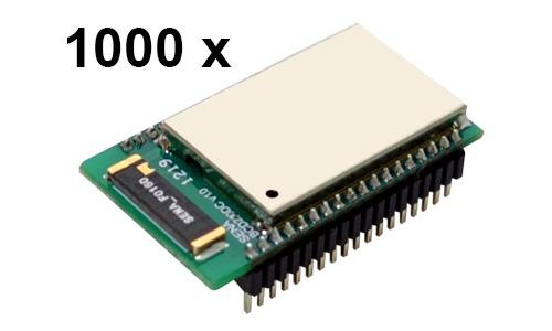 1000 Stück Parani BCD210-DC Bluetooth v2.0+EDR Class 2 OEM Modul mit SPP Firmware und Keramikantenne