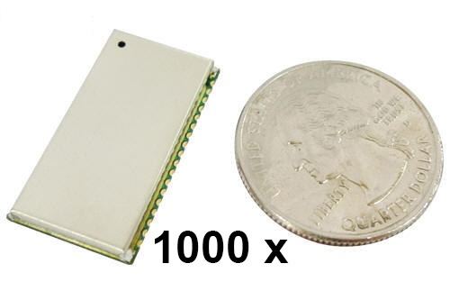 1000 Stück Parani BCD100 Bluetooth v2.0+EDR Class 1 OEM Chip mit SPP Firmware