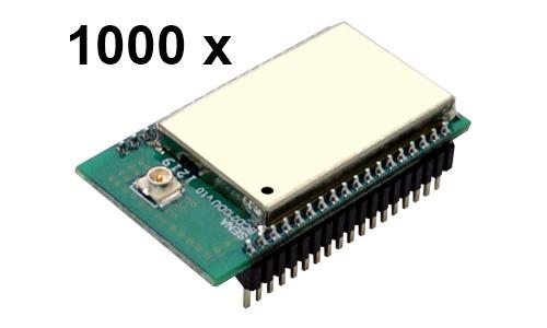 1000 Stück Parani BCD210-DU Bluetooth v2.0+EDR Class 2 OEM Modul, SPP Firmware, U.FL Antenenbuchse