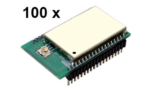 100 Stück Parani BCD210-DU Bluetooth v2.0+EDR Class 2 OEM Modul, SPP Firmware, U.FL Antenenbuchse