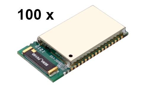 100 Stück Parani BCD210-SC Bluetooth v2.0+EDR Class 2 embedded OEM Modul mit SPP Firmware, Keramikantenne