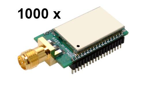 1000 Stück Parani BCD210-DS Bluetooth v2.0+EDR Class 2 embedded OEM Modul, SPP Firmware, SMA Antennenanschluss