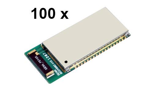 100 Stück Parani BCD110-SC Bluetooth v2.0+EDR Class 1 embedded OEM Modul mit SPP Firmware und Keramikantenne