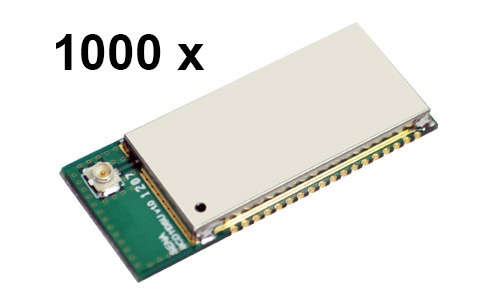 1000 Stück Parani BCD110-SU Bluetooth v2.0+EDR Class 1 embedded OEM Modul mit SPP Firmware, U.FL Antennenbuchse