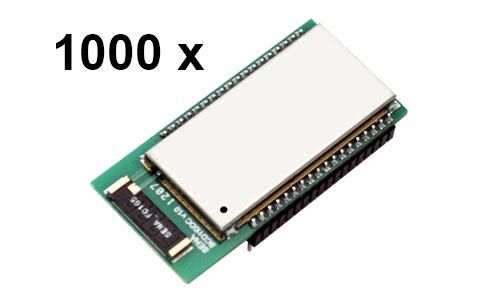 1000 Stück Bluetooth v2.0+EDR Class 1 embedded OEM Module mit SPP Firmware und Chipantenne