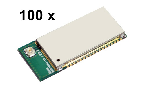 100 Stück Parani BCD110-SU Bluetooth v2.0+EDR Class 1 embedded OEM Modul mit SPP Firmware, U.FL Antennenbuchse
