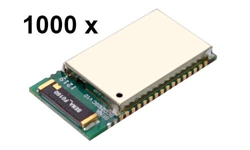 1000 Stück Parani BCD210-SC Bluetooth v2.0+EDR Class 2 embedded OEM Modul mit SPP Firmware, Keramikantenne
