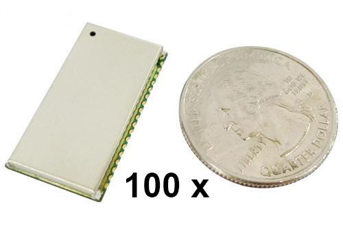 100 Stück Parani BCD100 Bluetooth v2.0+EDR Class 1 OEM Chip mit SPP Firmware
