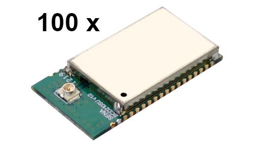 100 Stück Parani BCD210-SU Bluetooth v2.0+EDR Class 2 embedded OEM Modul mit SPP Firmware, U.FL Antennenbuchse