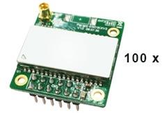100 Stück Parani EDS110 OEM Bluetooth-Serial Modul Class 1, Bluetooth v2.0 + EDR, SPP Modul ohne Antenne