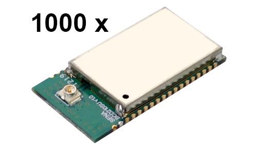 1000 Stück Parani BCD210-SU Bluetooth v2.0+EDR Class 2 embedded OEM Modul mit SPP Firmware, U.FL Antennenbuchse