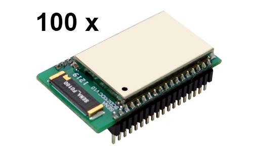 100 Stück Parani BCD210-DC Bluetooth v2.0+EDR Class 2 OEM Modul mit SPP Firmware und Keramikantenne